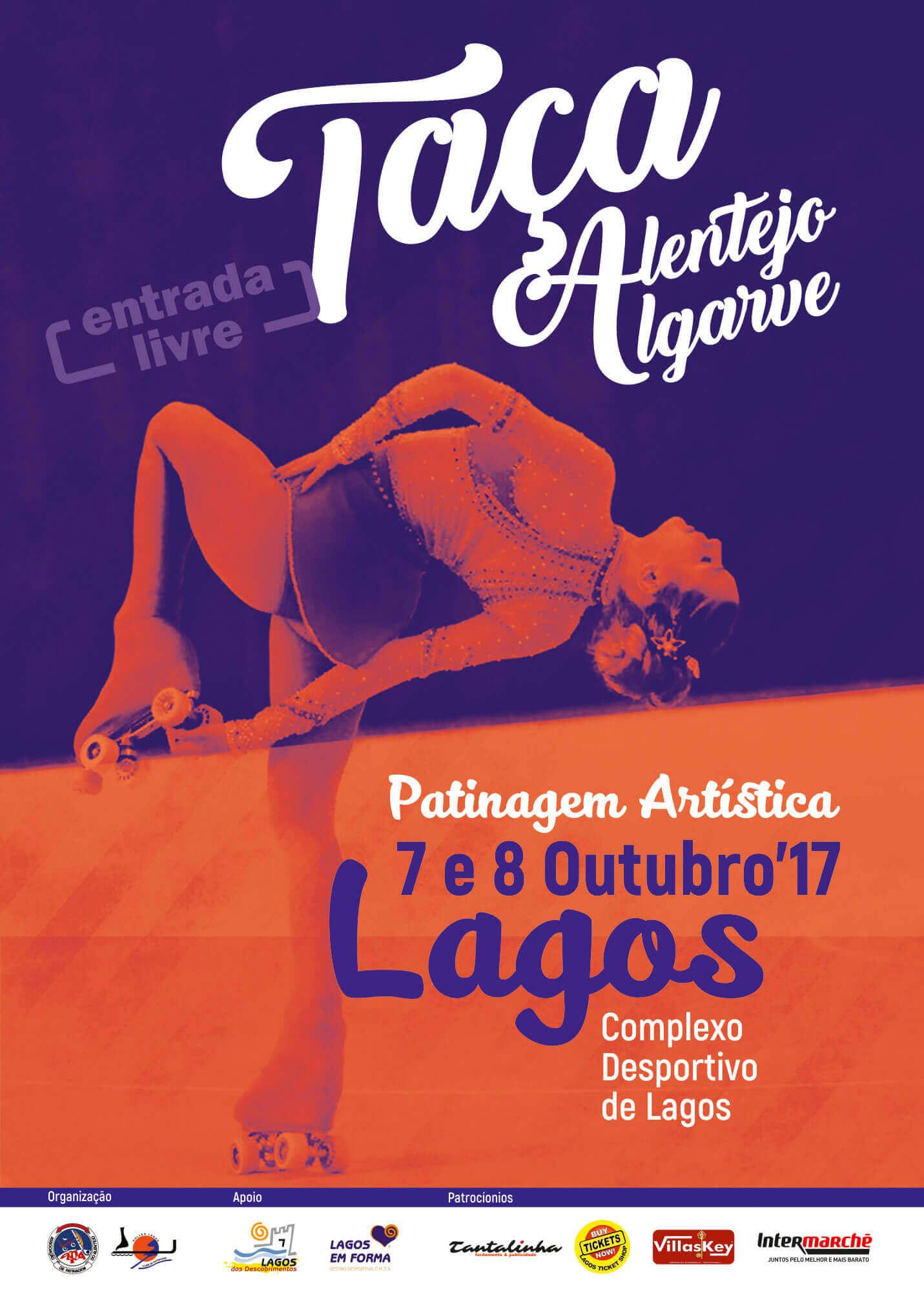 Taça Alentejo Algarve – 7 e 8 de Outubro cartaz PATINAGEM web