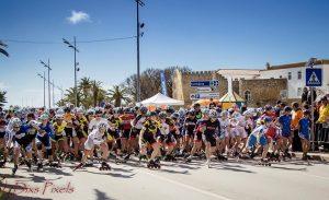 thiebault Thiebault e Tas dominaram Terras do Infante Partida Feminina Meia Maratona TI 2018 300x183
