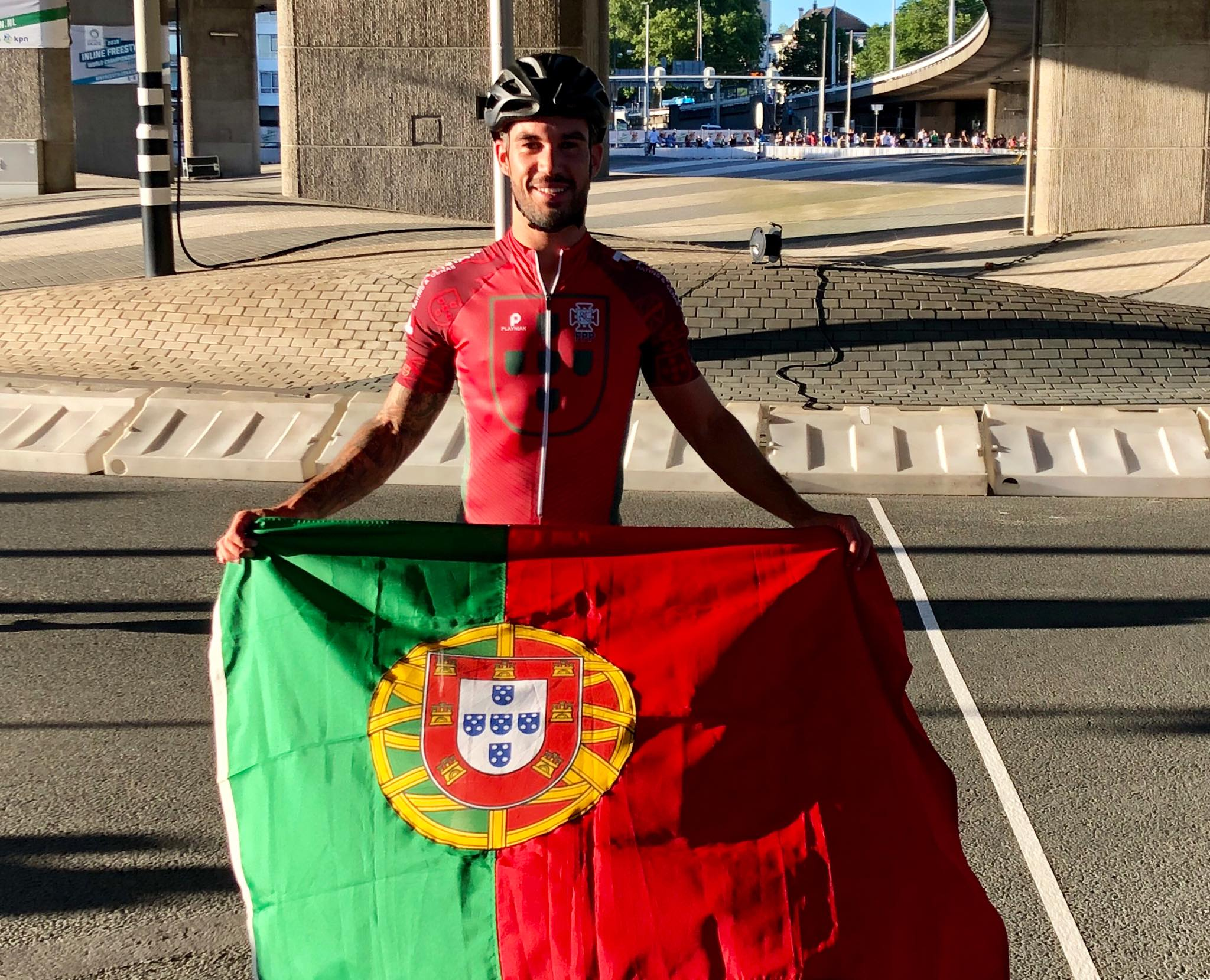 Diogo Caiu e Ficou Fora do Mundial Diogo 10km P