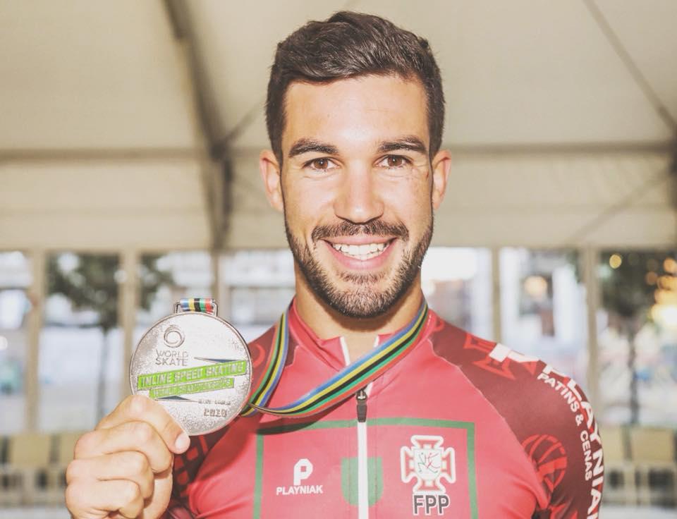 DIOGO VICE CAMPEÃO MUNDIAL 10KM Pontos Diogo e a medalha