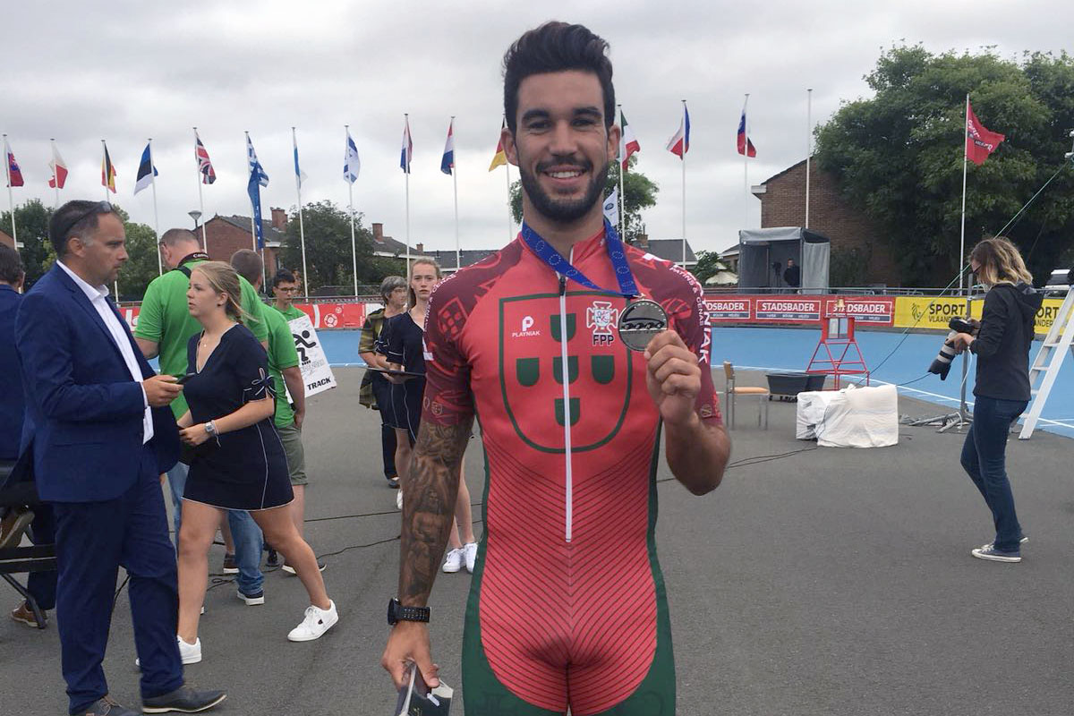 DIOGO 2x Vice Campeão Europeu 1Km e Estafetas Diogo e a medlaha 1Km