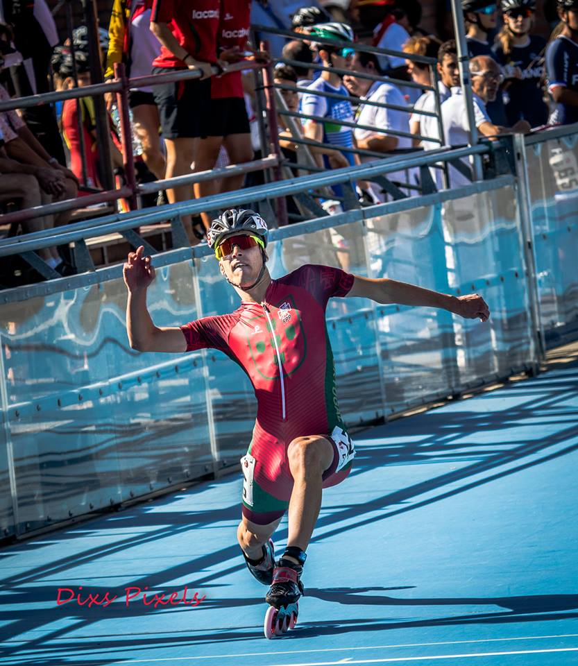 DIOGO Vice Campeão Europeu 10Km P/E Duarte Souza 300m coret de meta