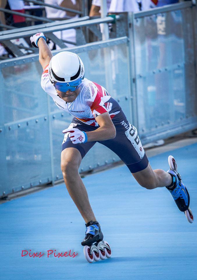 DIOGO 2x Vice Campeão Europeu 1Km e Estafetas Trystyn 1