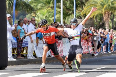 diogo vence  biosfera e maratona do funchal Diogo vence  Biosfera e Maratona do Funchal Chegada Maratona Funchal 400x266 clube Notícias Chegada Maratona Funchal 400x266