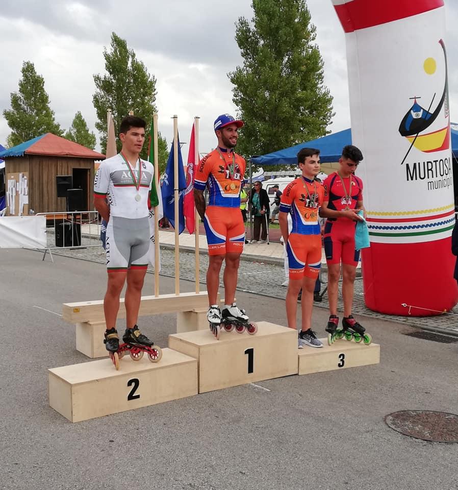 Dylan e Diogo Campeões Nacionais Absolutos P  dio Circuito Nacional de Maratonas