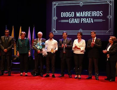 Diogo Marreiros Medalha de Mérito Municipal – Grau Prata
