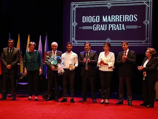 Diogo Marreiros Medalha de Mérito Municipal – Grau Prata Diogo Marreiros Grau Prata hom